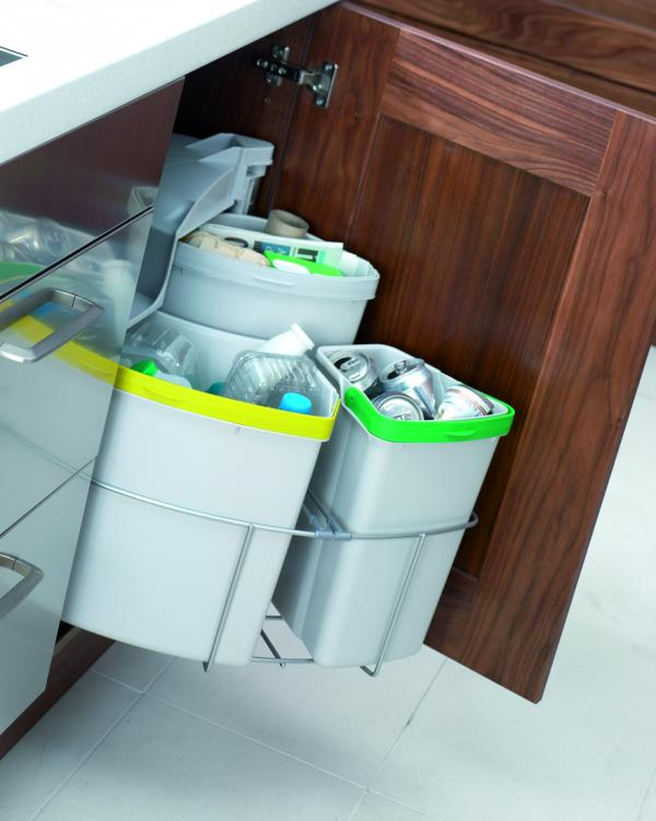 Concealed Recycle Bins